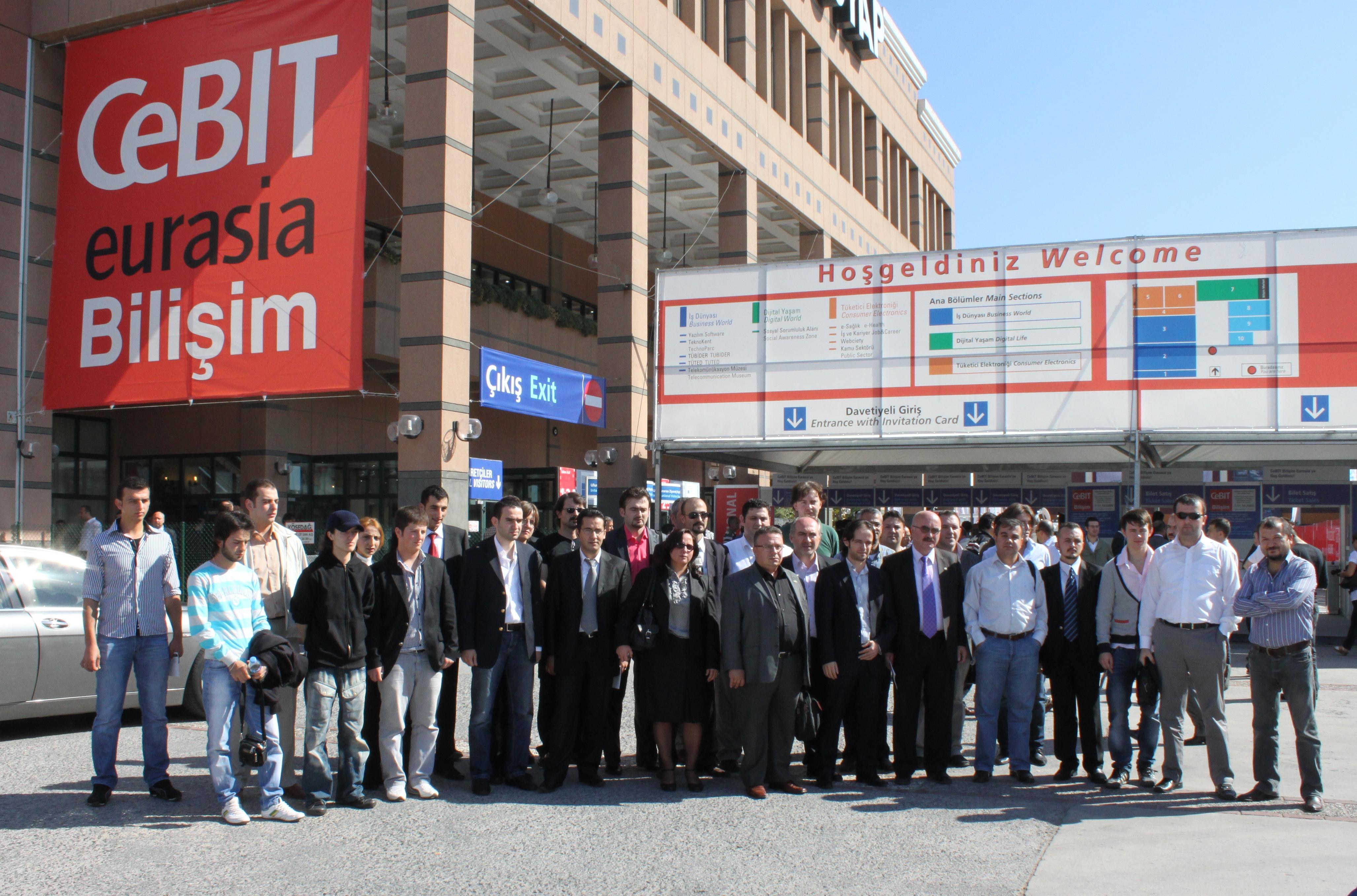 Sabider- İstanbul Cebit Eurasia Fuarında…