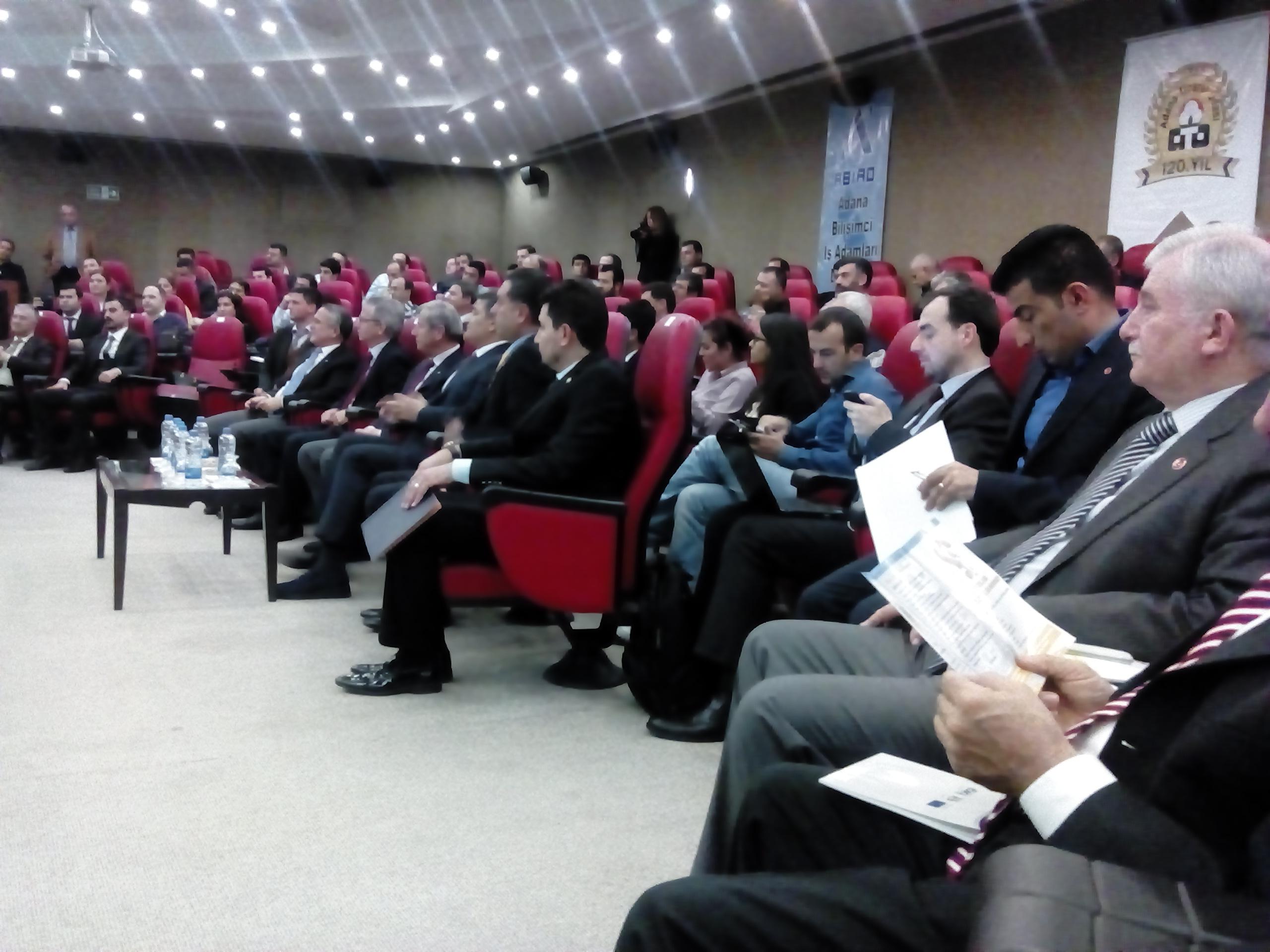 Sabider Tübifed toplantısı için Adana'da