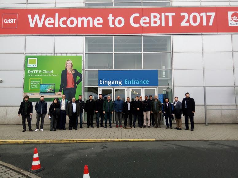 Sabider, CeBIT Hannover 2017 Fuarına iş gezisi düzenledi