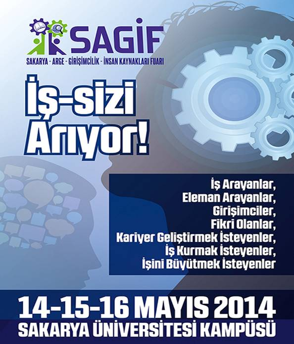 """SAGİF-2017  """"iş sizi arıyor"""""""